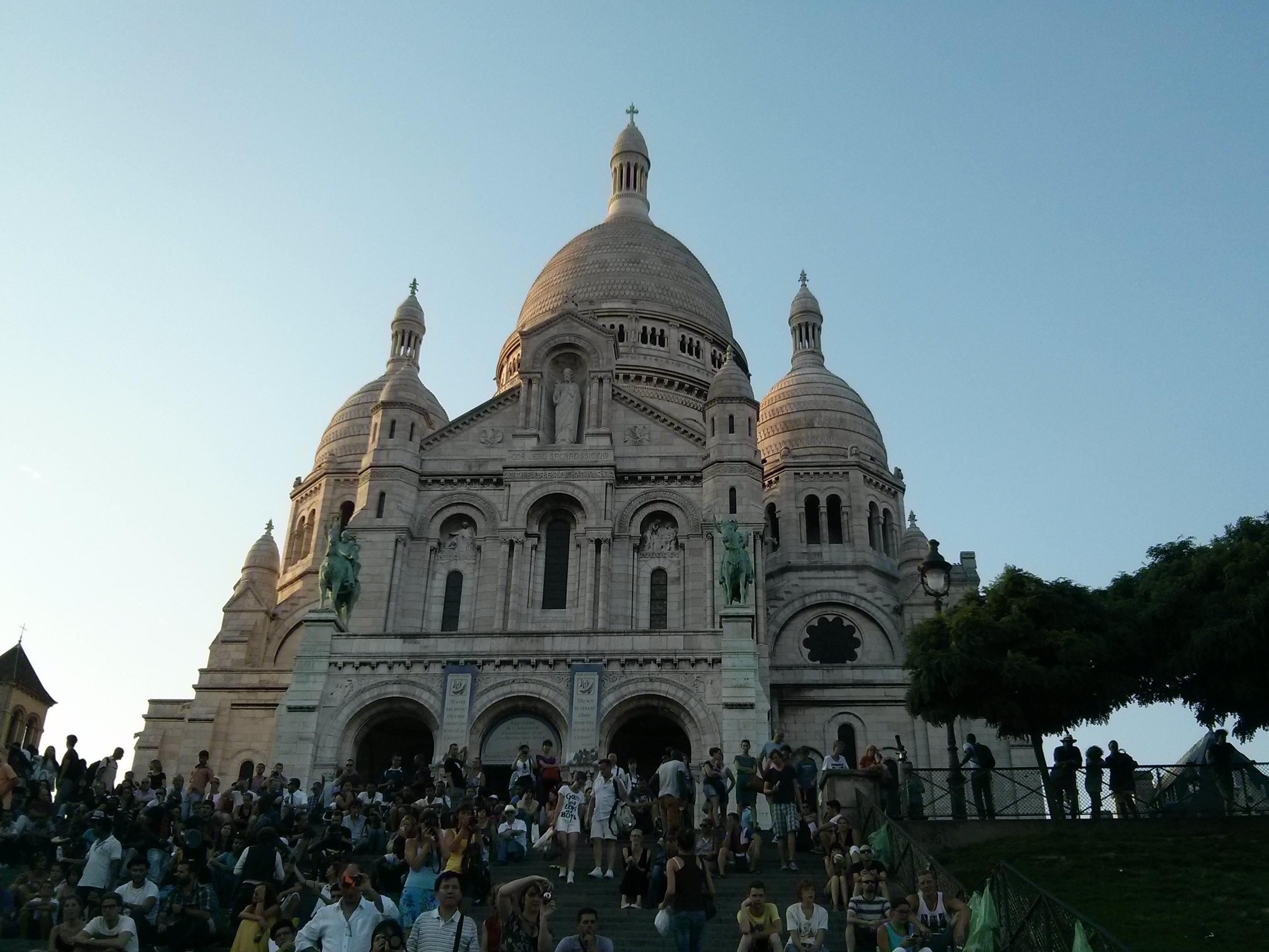 Un itinerario per visitare Parigi - Sacre Coeur a Montmartre