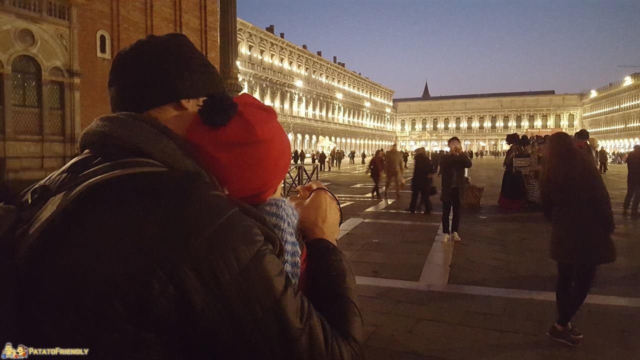 Venezia a Natale - Il Patato in Piazza San Marco