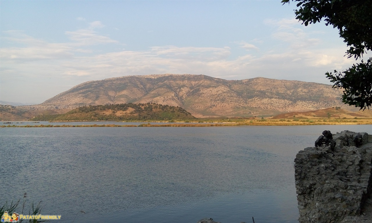 Parco Archeologico di Butrinto - La vista sulla laguna