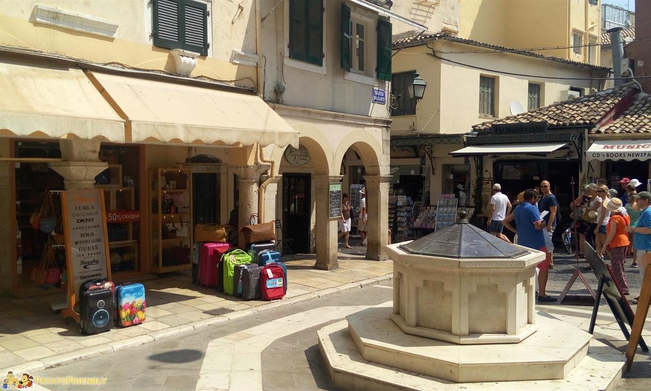Corfù in un giorno - Il centro storico