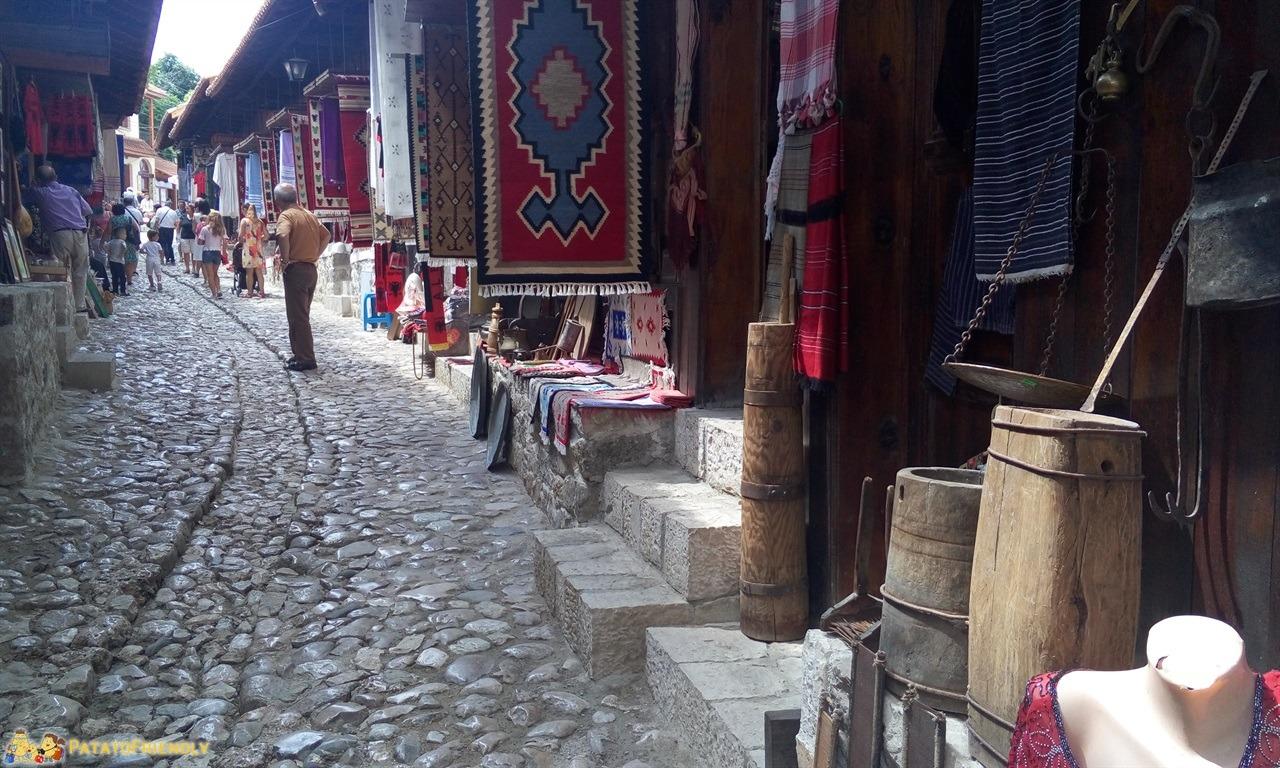Cosa vedere a Kruja - Le vie dell'antico Bazaar