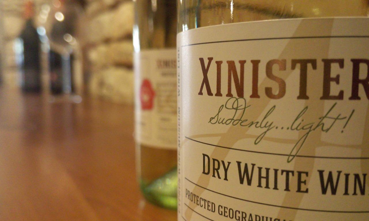 Le tradizioni e il vino di Cipro - Particolare delle bottiglie