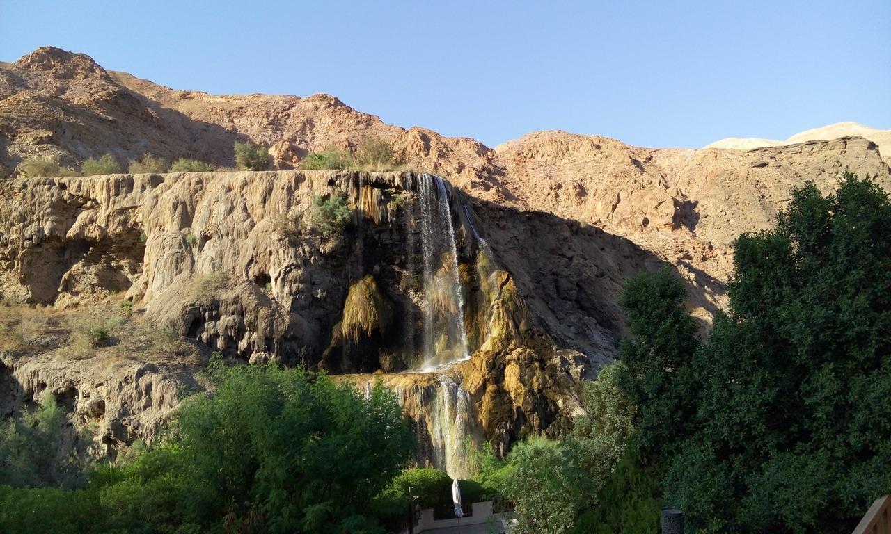 [cml_media_alt id='7016']Visitare la Giordania - Le 5 mete da non perdere - La cascata di acqua termale di Ma'In[/cml_media_alt]
