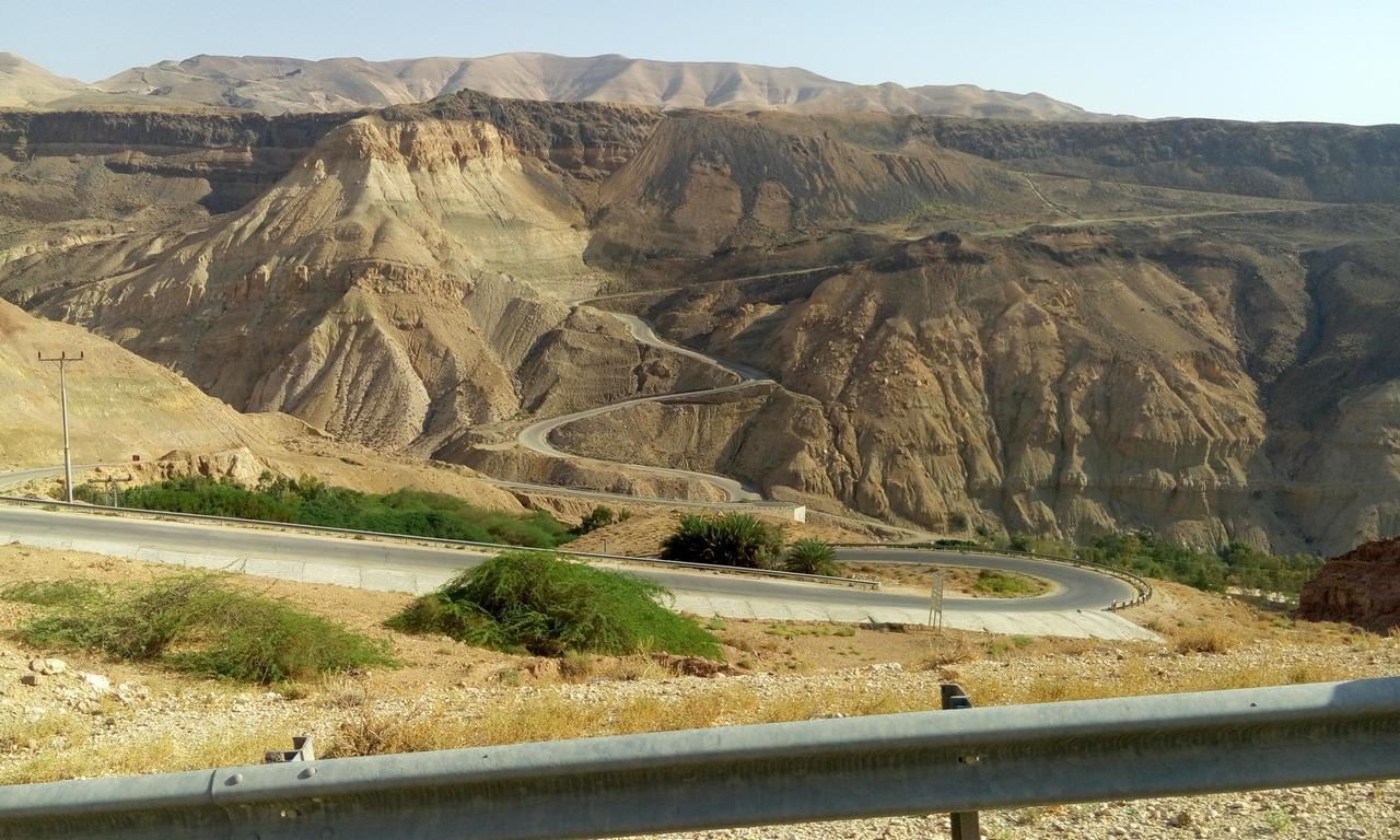[cml_media_alt id='7017']Visitare la Giordania - Le 5 mete da non perdere - La tortuosa strada che conduce alle sorgenti di Ma'In[/cml_media_alt]