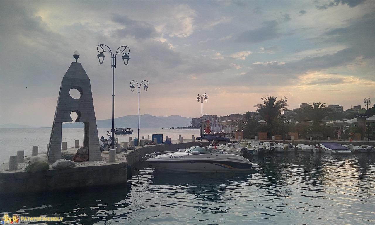 Saranda - Il piccolo porto turistico