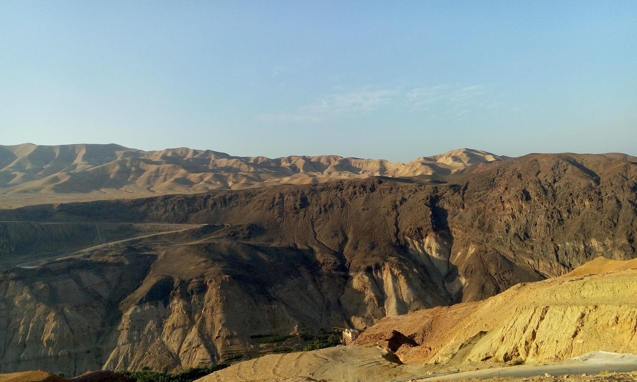[cml_media_alt id='7034']Vacanza in Giordania - L'alba sulle montagne che circondano la sorgente di Ma'In[/cml_media_alt]