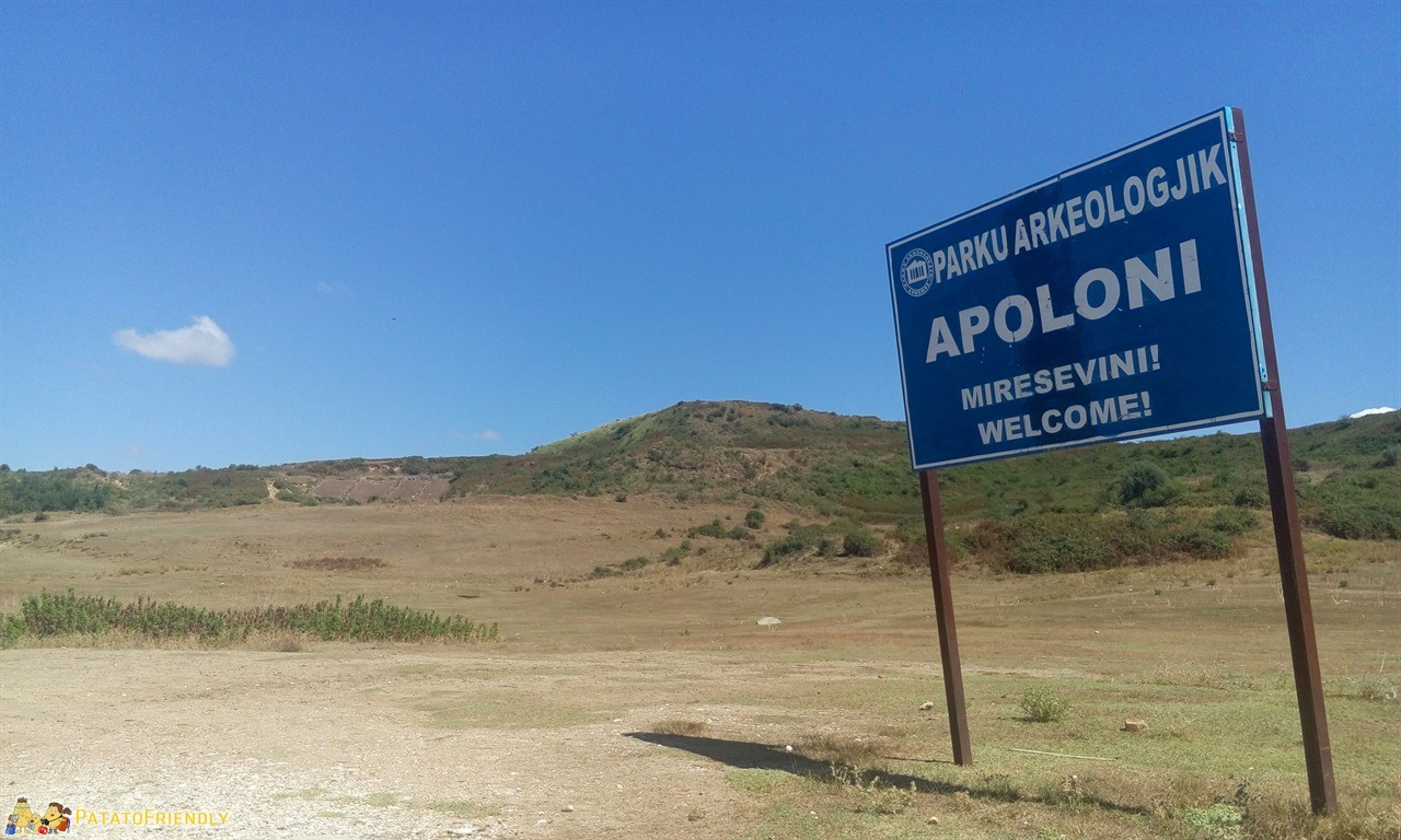 itinerario per un viaggio in Albania - Il sito di Apollonia vicino a Fier