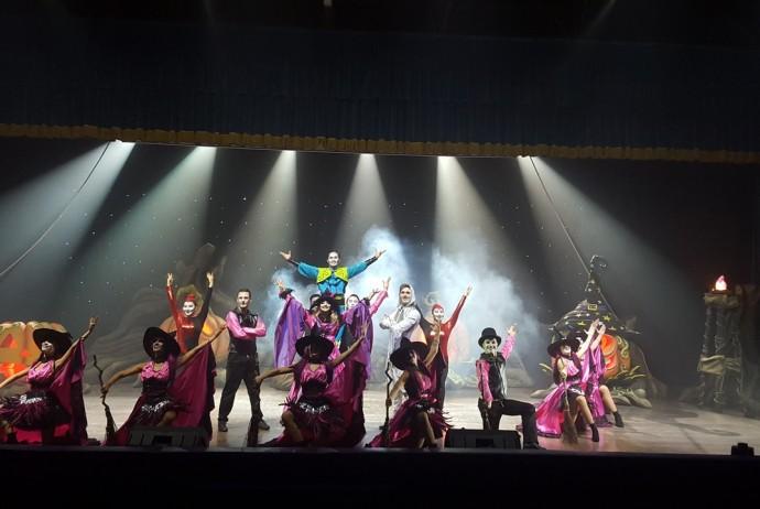 Andare a Leolandia - Lo spettacolo di Halloween nel teatro coperto di Leolandia