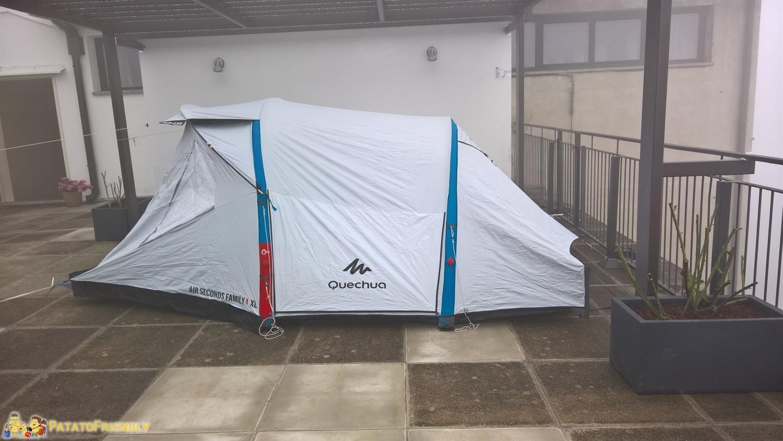 [cml_media_alt id='7332']Campeggio con i bambini - La tenda Quechua di Decathlon[/cml_media_alt]