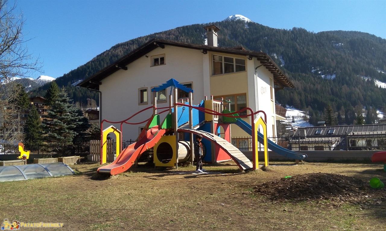 [cml_media_alt id='7246']Hotel per famiglie in Val di Fassa - Il PArco Giochi all'aperto dell'Hotel Dolce Casa[/cml_media_alt]