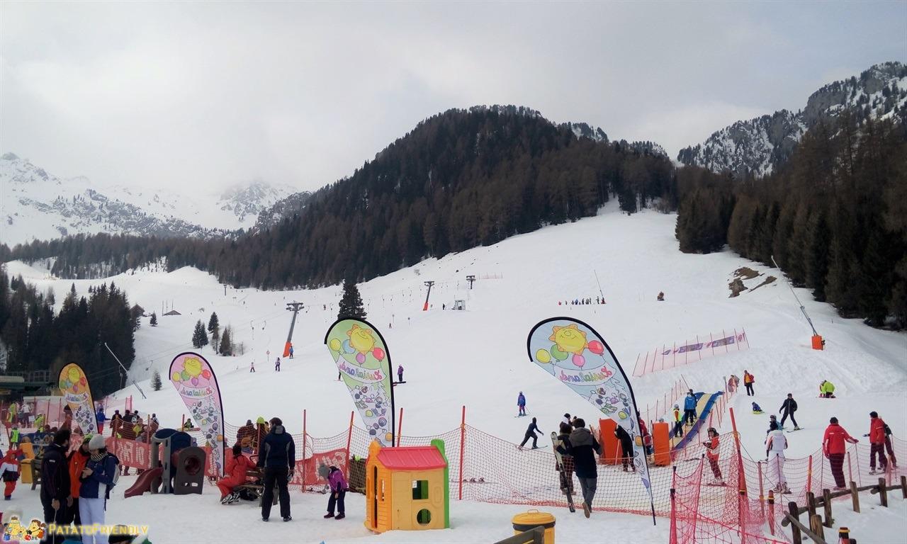 [cml_media_alt id='7247']Hotel per famiglie in Val di Fassa - Il PArco giochi sulla neve Lusialand convenzionato con l'Hotel[/cml_media_alt]
