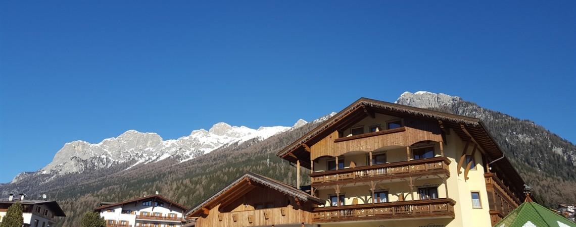 Hotel per famiglie in Val di Fassa - L'hotel Dolce Casa a Moena