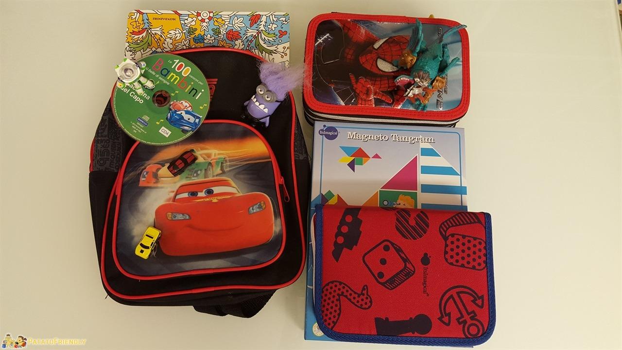 Intrattenere i bambini in viaggio - La nostra personalissima Busy bag