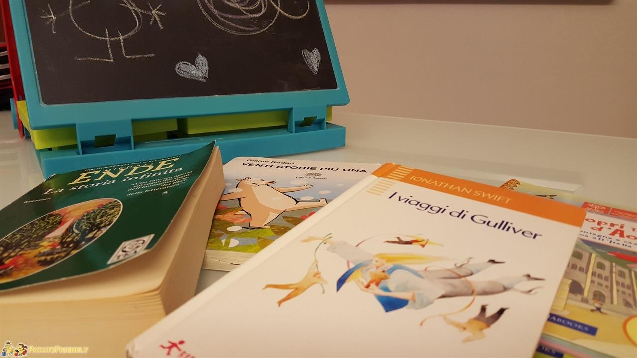 Intrattenere i bambini in viaggio - Libri, libri, libri! Noi adoriamo i libri!