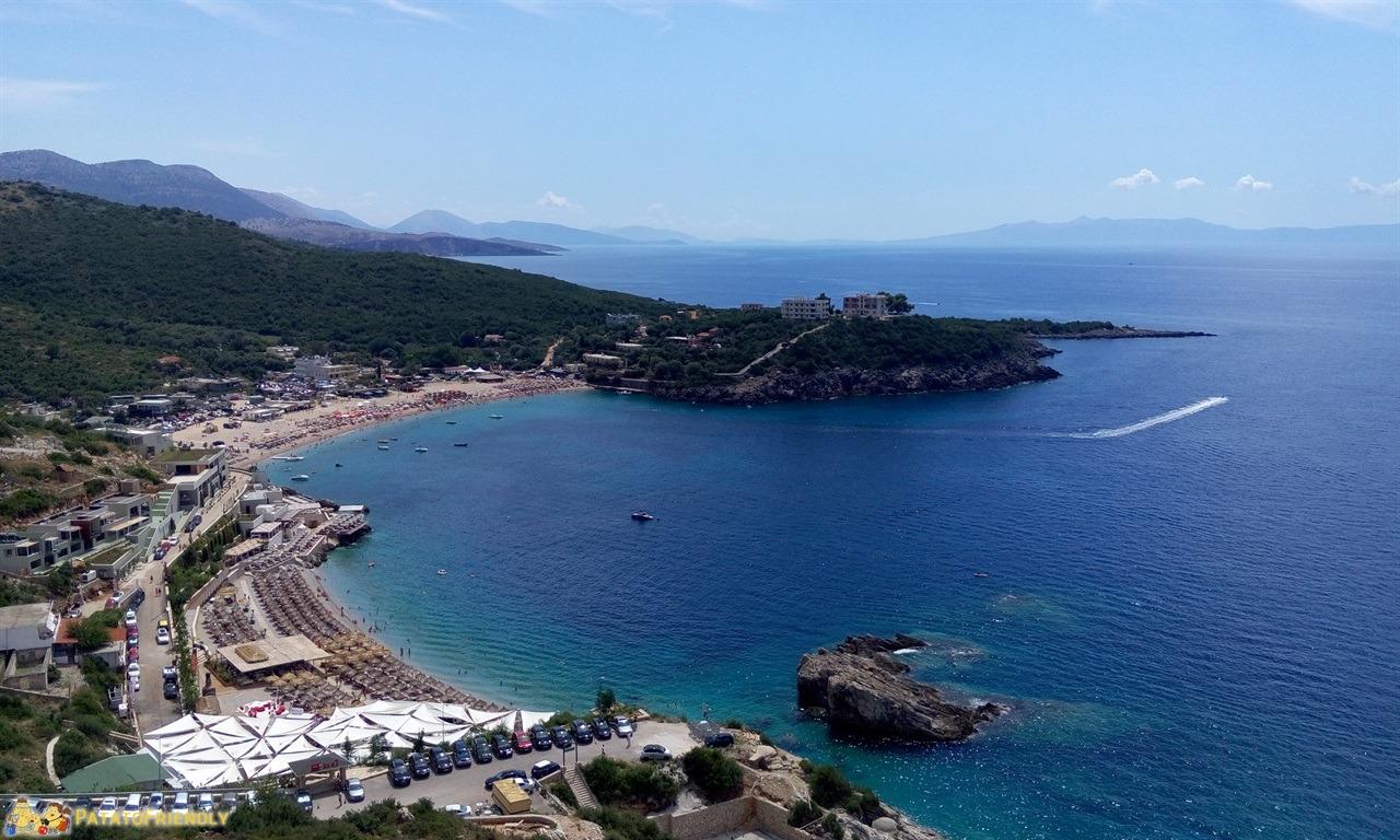 Le più belle spiagge dell'Albania - Jale e il suo Golfo