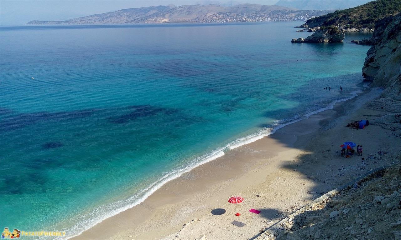 Le più belle spiagge dell'Albania - Ksamil - La spiaggia di Pasqyrat - La spiaggia degli specchi
