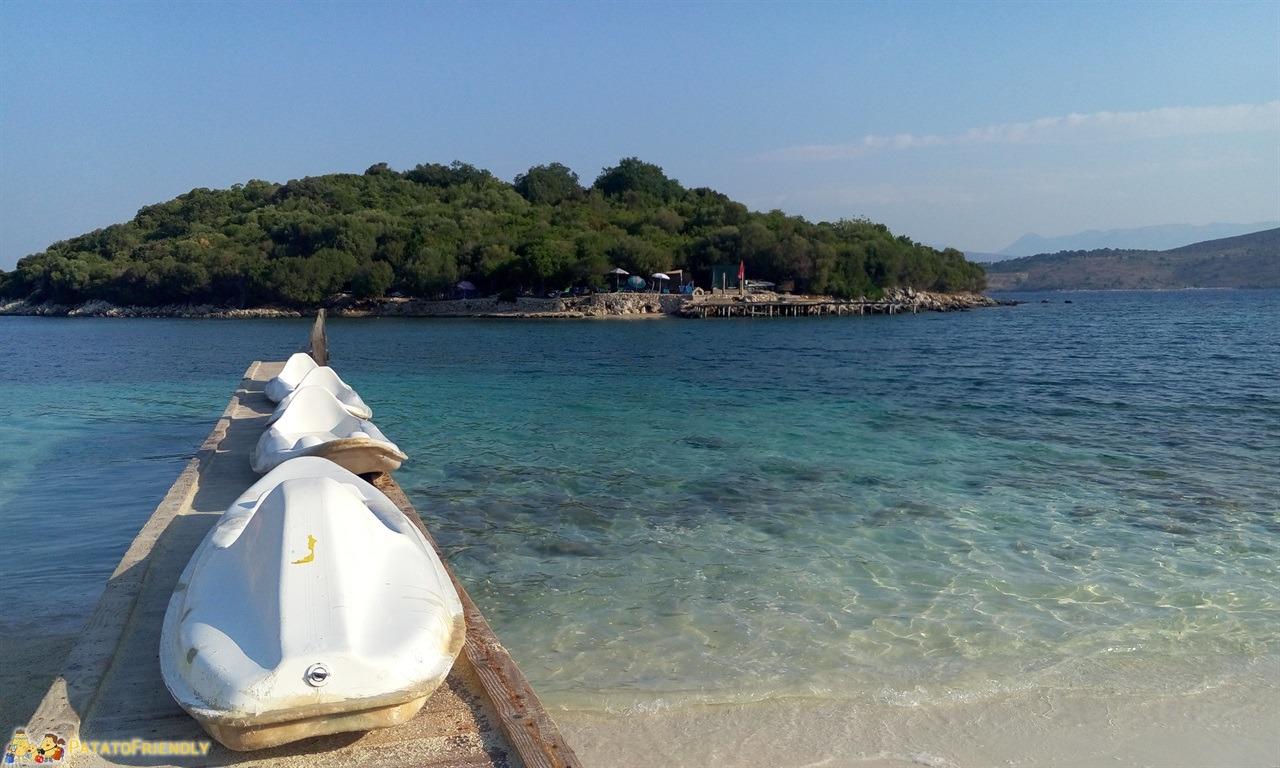 Le più belle spiagge dell'Albania - Ksamil - Tre Ishujt Beach