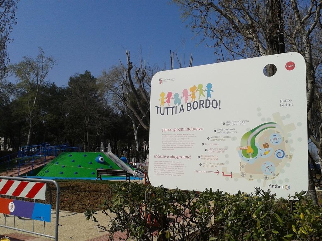 Parco giochi inclusivo di Rimini - Credits parchipertutti.blogspot.it