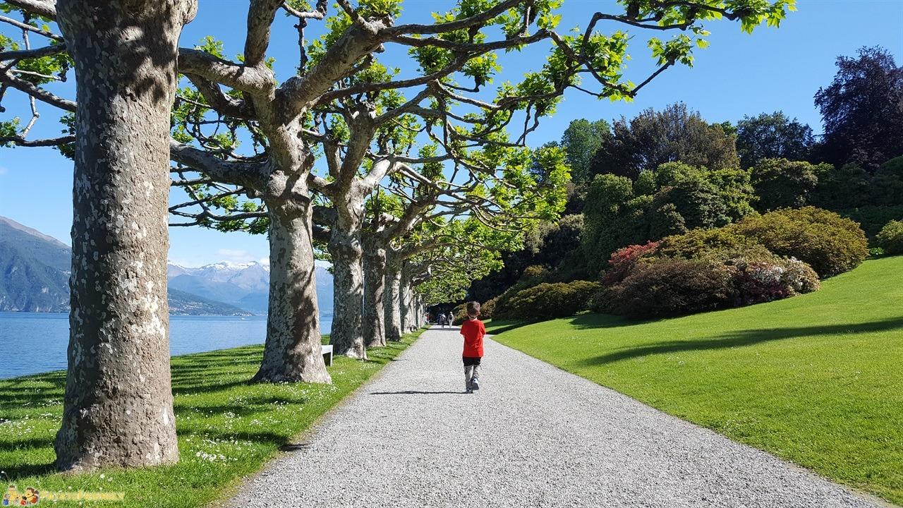 [cml_media_alt id='7553']Dormire a Bellagio - La passeggiata del parco di Villa Melzi che separa San Giovanni da Bellagio[/cml_media_alt]