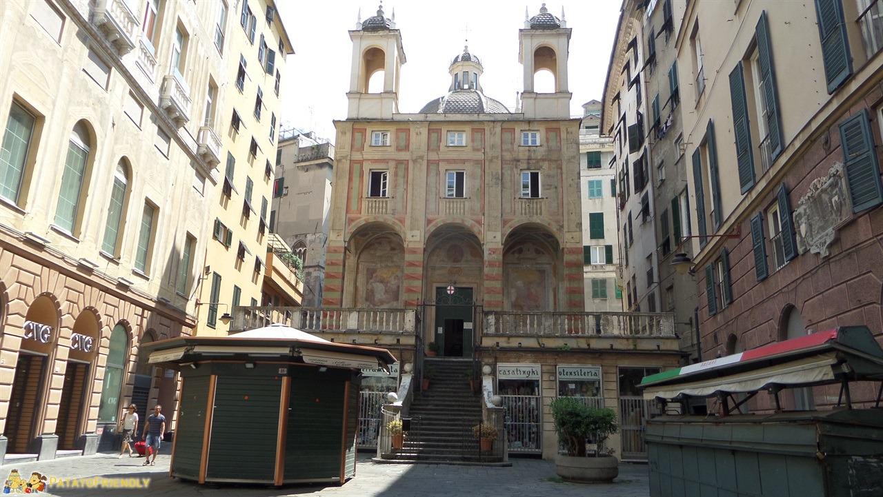 Mangiare a Genova - Il centro storico