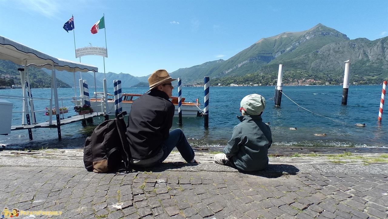 A Bellagio con i Bambini - Vista sul Lago di Como