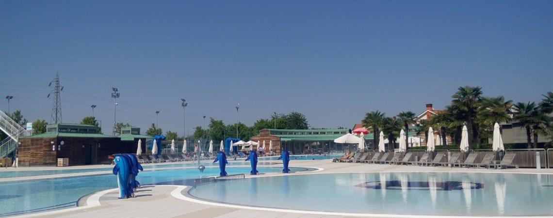 Camping Village Europa Jesolo - Le splendide piscine
