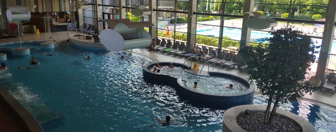 Le Terme di Dolnjske Toplice in Slovenia - La grande piscina interna