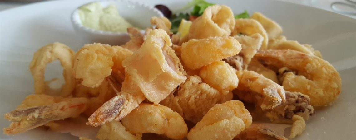 Mangiare a Bellagio - Fritto misto allo Sporting Club
