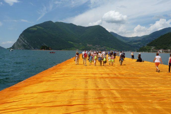 The Floating Piers - Il ponte galleggiante sul Lago d'Iseo