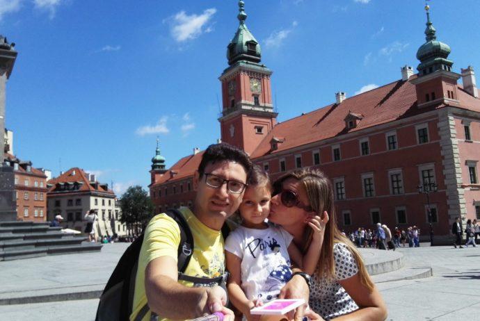Il Palazzo Reale a Varsavia - Credits Filo