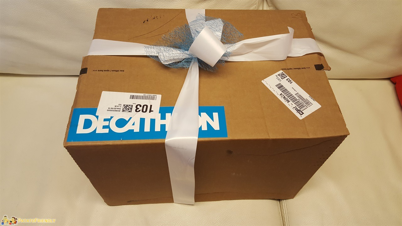 Il nostro pacco Decathlon per -Raccontami il tuo mare-