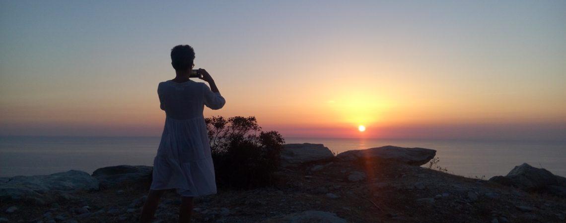 Corsica - Un petit morceau - Tramonti rosa