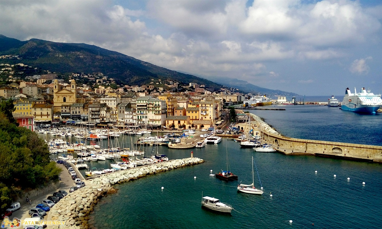 Bastia e il suo porto - Corsica
