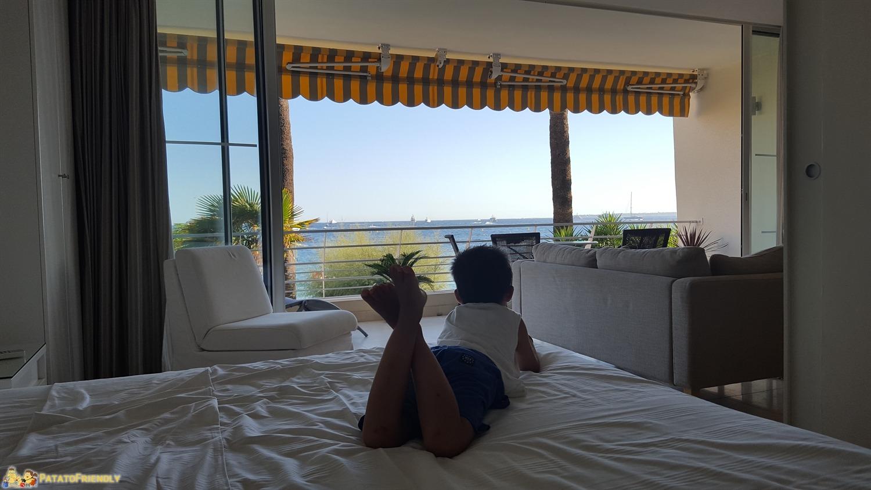 La nostra casa in riva al mare ad Antibes