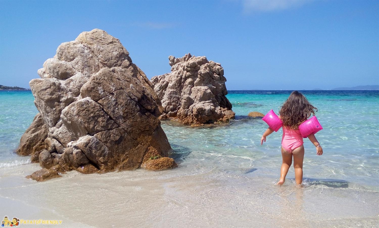 La splendida Plage d'Argent con le sue rocce strane e il mare cristallino