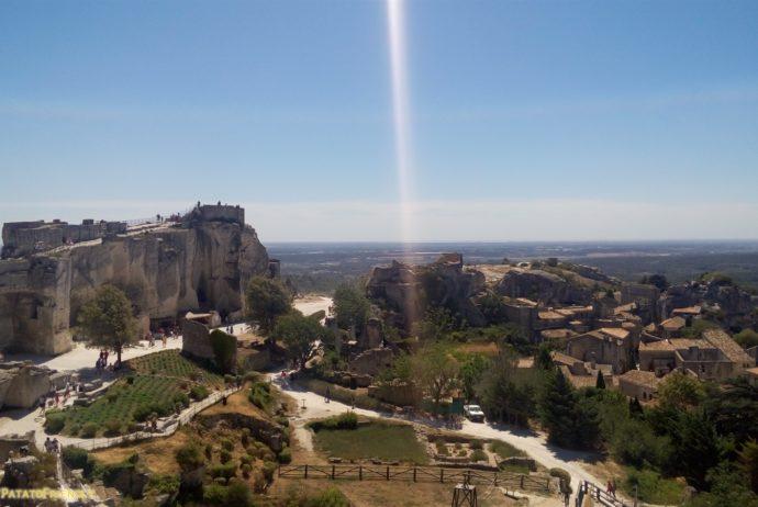 Baux de Provence - vista sulle rovine del castello