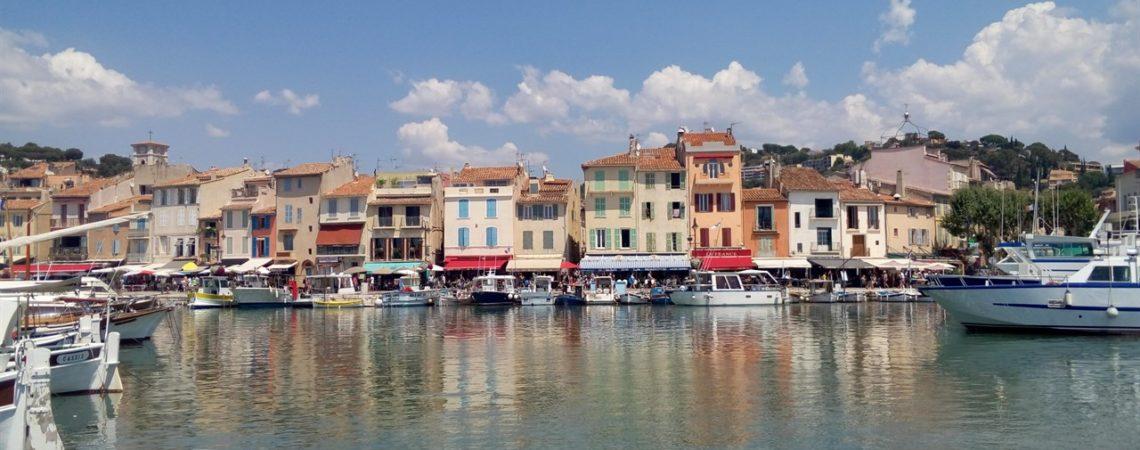 Cassis - Veduta sul porto turistico