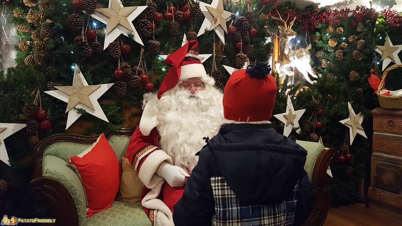 La Casa Bergamasca di Babbo Natale a Gandino
