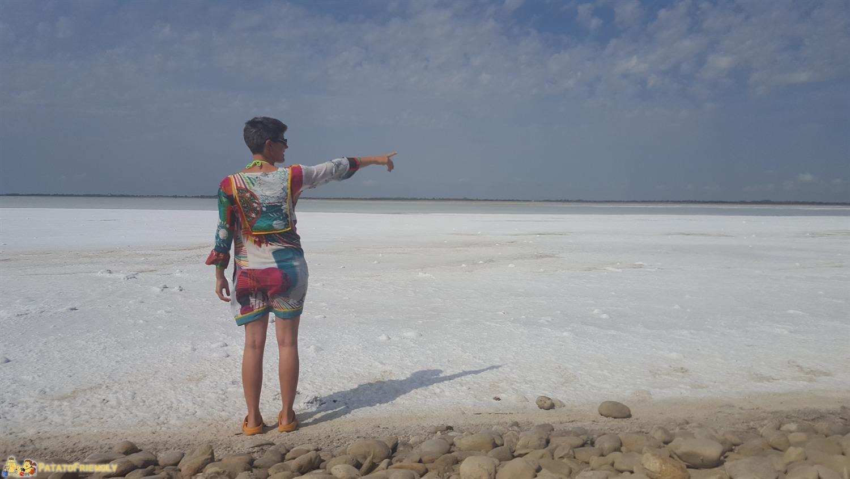 Itinerario in Camargue - La spettacolare distesa di sale de l'Etang du Fangassier