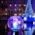 Darsena Christmas Village - il villaggio di Natale alla Darsena di Milano illuminato la sera