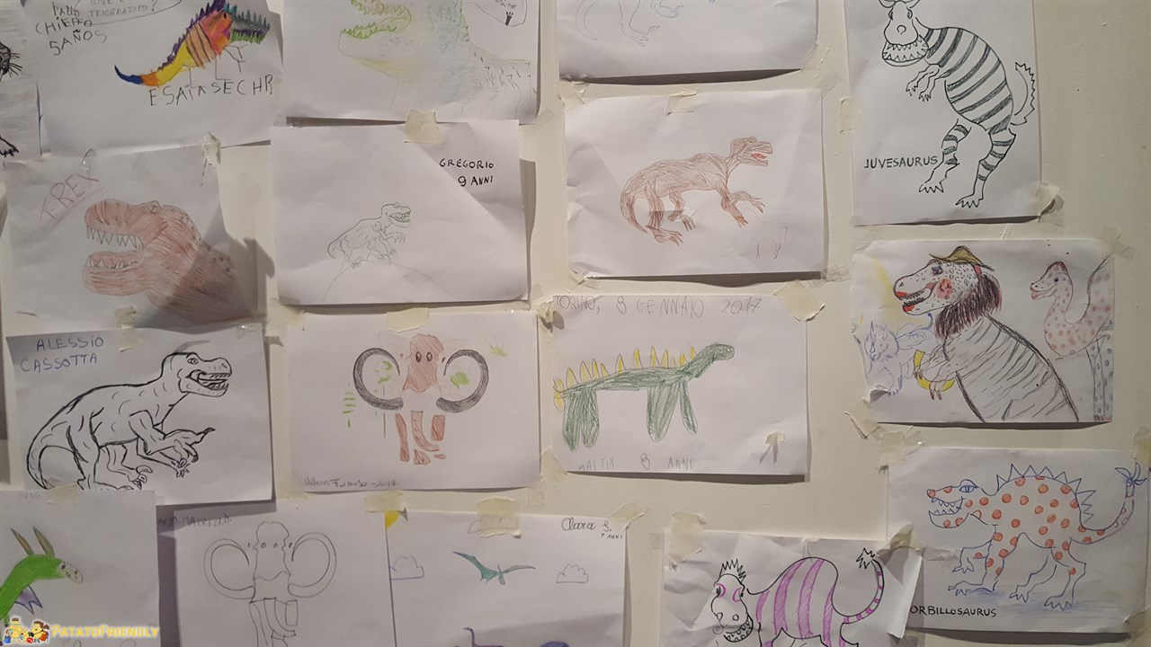 [cml_media_alt id='9548']Dinosaurs Live - I disegni dei bambini alla mostra dei dinosauri a Torino[/cml_media_alt]