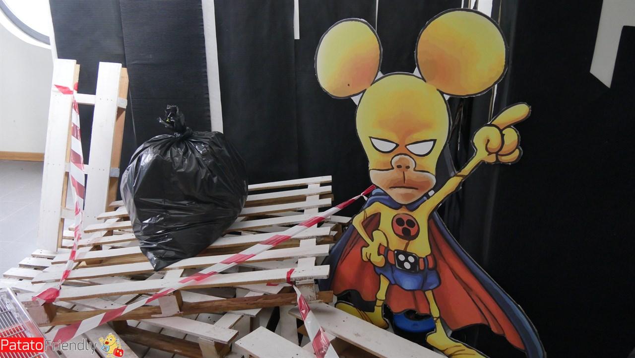 Animali Vs Supereroi - Parco Nord Milano - Ratman, il Supereroe non così super