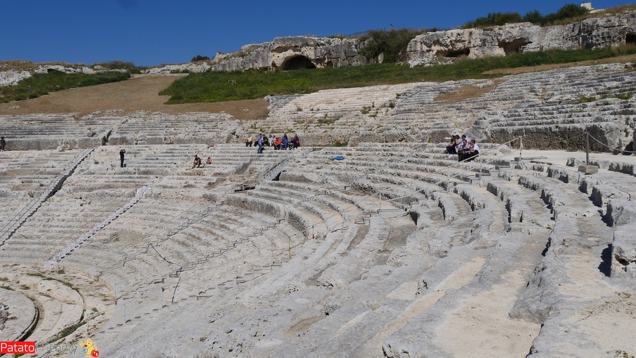Cosa fare a Siracusa - il teatro nel Parco della Neapolis