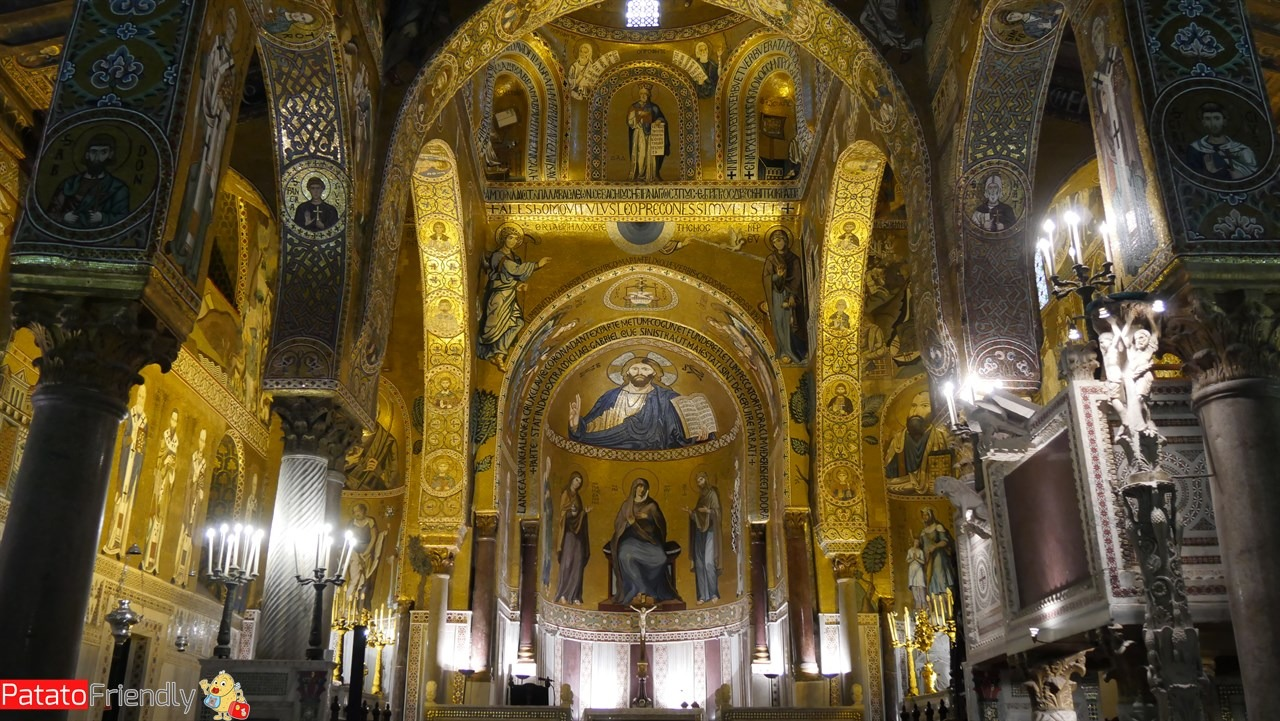Cosa vedere a Palermo - Gli interni della Cappella Palatina