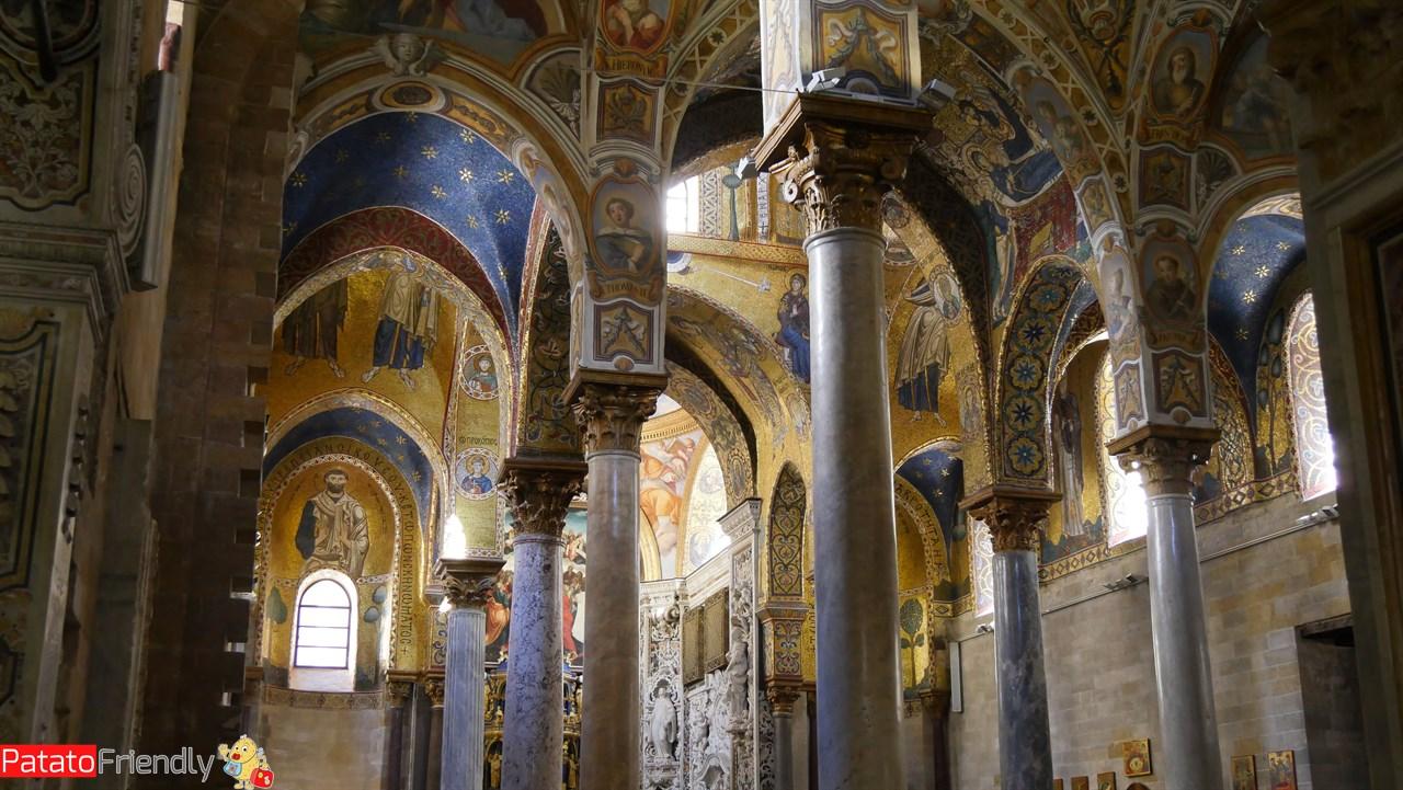 Cosa vedere a Palermo - Gli interni della Chiesa della Martorana