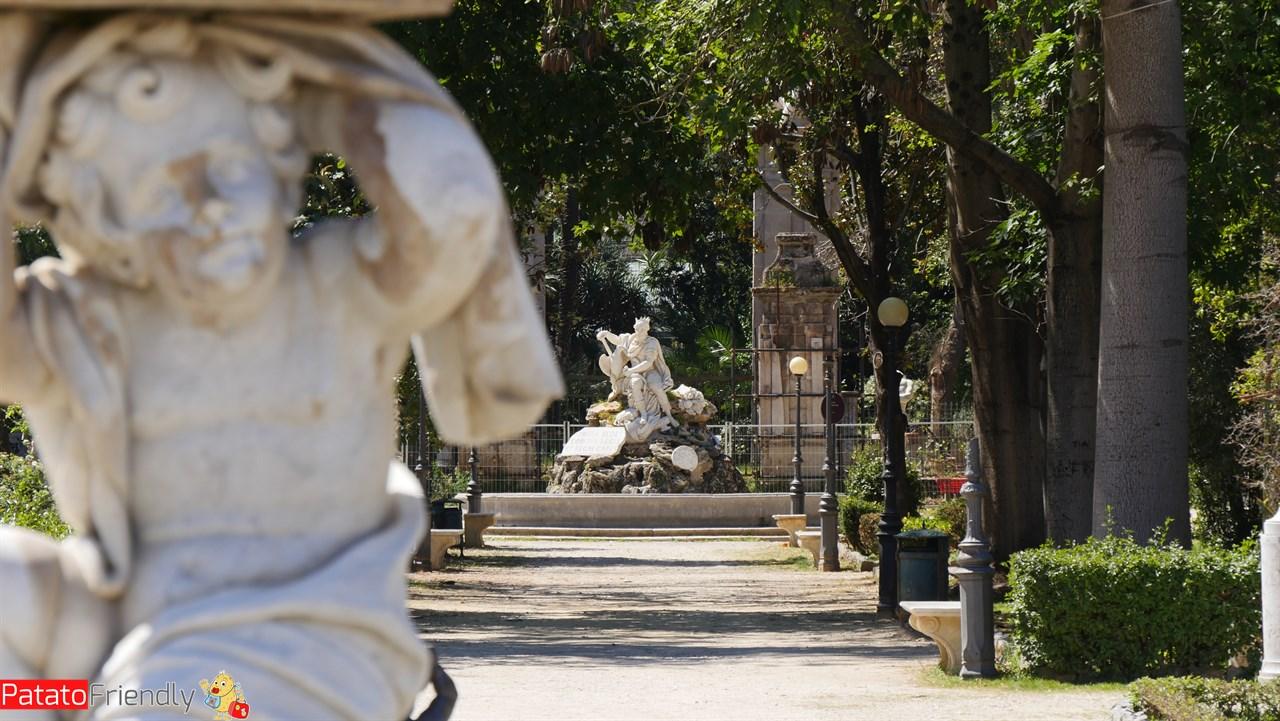 Cosa vedere a Palermo - I Giardini di Villa Giulia
