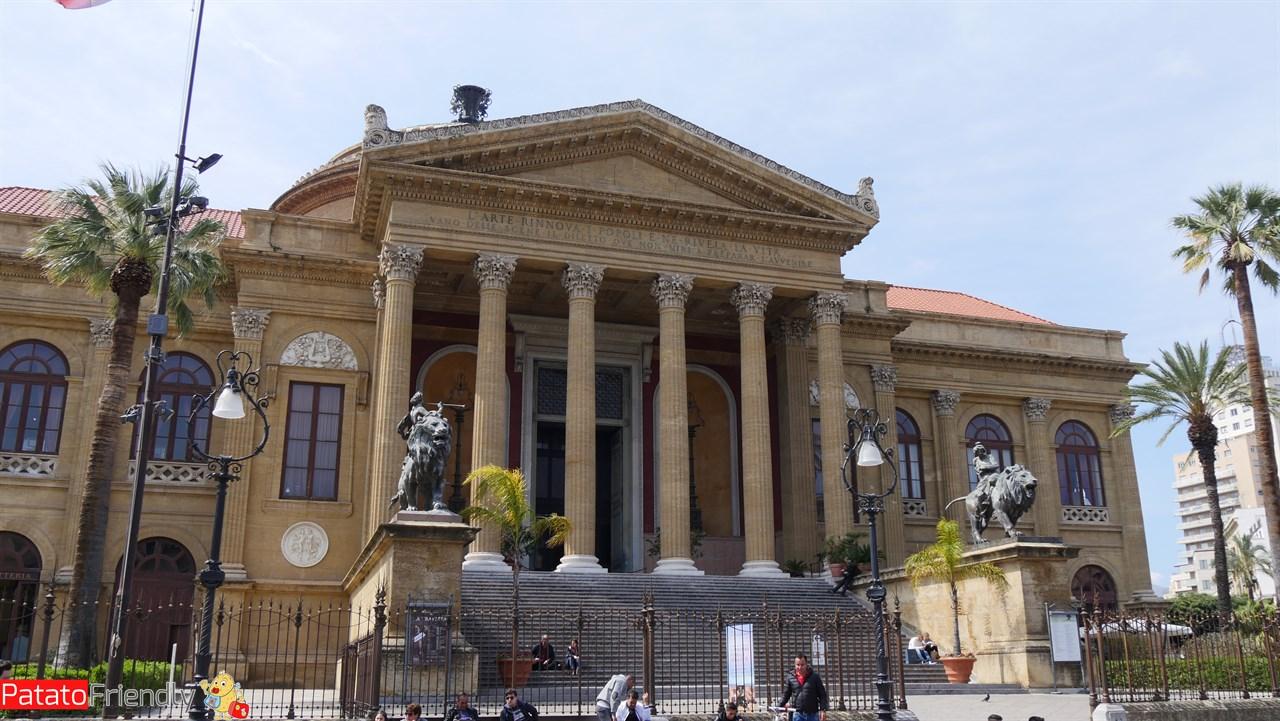 Cosa vedere a Palermo - Il teatro Massimo