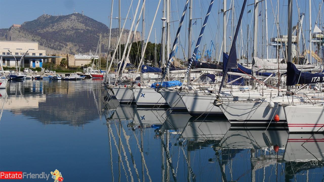 Cosa vedere a Palermo - La Cala - Il porto turistico