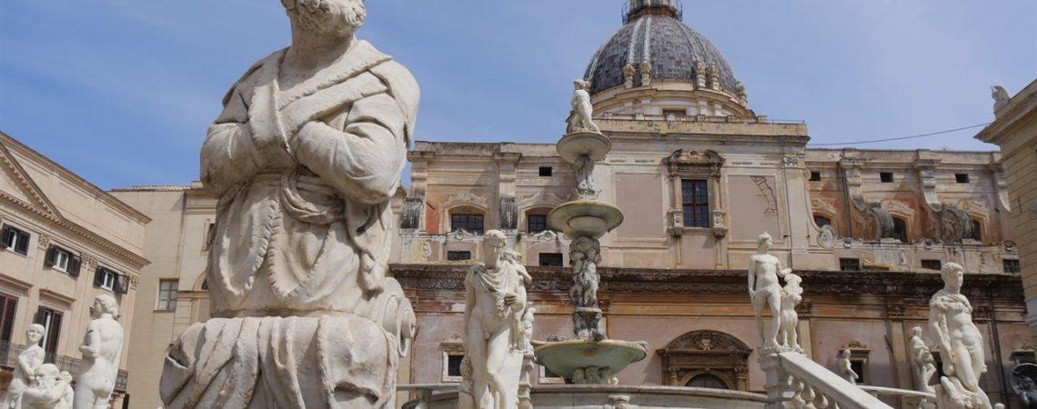 Cosa vedere a Palermo - La Fontana Pretoria
