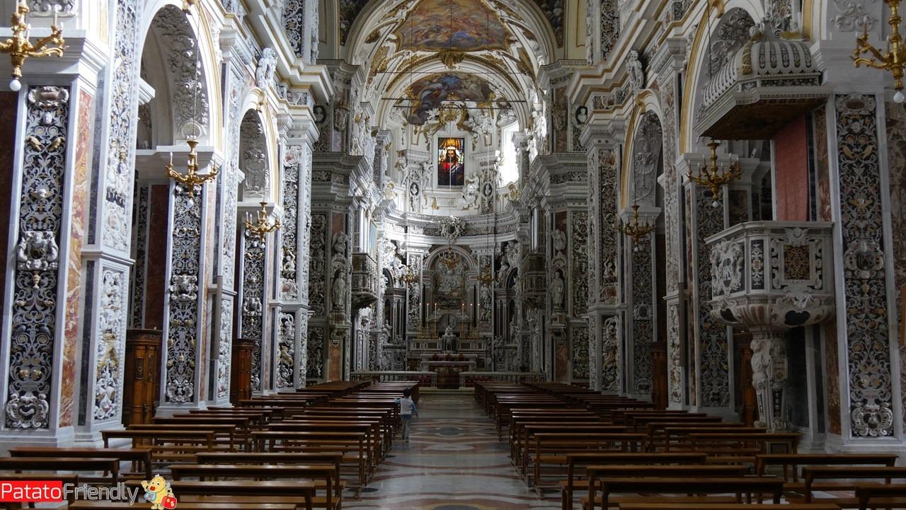 Cosa vedere a Palermo - La stupenda Chiesa Professa (Chiesa del Gesù)